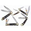 CCN-57436 LMTD RAMS HORN BUF INLAY COLL(5P [Steel Warrior • Pocket Knives]