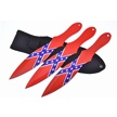 CCN-57482 SOUTHERN THROWERS (3PCS) [Frost Cutlery • Fixed Blades & Hunters • Throwing Knives]