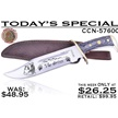 CCN-57600 TODAY'S SPECIAL (1PC) [Chipaway Cutlery • Fixed Blades & Hunters • Bowies]
