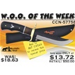 CCN-57758 WOO OF THE WEEK (1PC) [Blackhills Steel • Fixed Blades & Hunters • Skinning Knives]