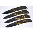 CCN-57814 THE GOLDEN WILDLIFE SERIES (4PCS [Rite Edge • Tacticals & Folders]