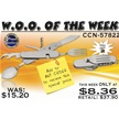 CCN-57822 WOO OF THE WEEK (2PCS) [Frost Cutlery • Pocket Knives]