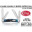 CCN-57860 CASE EARLY BIRD (1PC) [Case • Pocket Knives • Premium Knives]