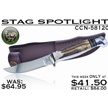 CCN-58120 STAG SPOTLIGHT (1PC) [Hen & Rooster • Fixed Blades & Hunters]