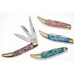 CCN-58134 EXECUTIVE ABALONE PICKS (4PCS) [Cherokee Stoneworks • Pocket Knives]