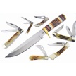 CCN-58203 SECONDCUT SELECTION (7PCS) [Assorted • Fixed Blades & Hunters]