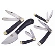 CCN-58237 BAREFOOT BUFFALO (5PCS) [Assorted • Fixed Blades & Hunters]