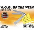 CCN-58277 WOO OF THE WEEK (1PC) [Frost Cutlery • Pocket Knives]