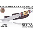 CCN-58278 CHIPAWAY CLEARANCE (1PC) [Chipaway Cutlery • Fixed Blades & Hunters • Bowies]