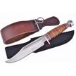 CCN-58358 LEATHER STACK & STRAP (2PCS) [Steel Warrior • Fixed Blades & Hunters • Bowies]