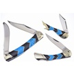 CCN-58502 TURQUOISE PEAKS TRIO (3PCS) [Rough Rider • Pocket Knives]