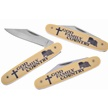 CCN-58505 GOD FAMILY COUNTRY (3PCS) [Frost Cutlery • Collectors' Items]