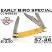CCN-58534 EARLY BIRD SPECIAL (1PC) [Valley Forge • Pocket Knives • Premium Knives]