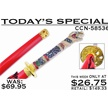 CCN-58536 TODAY'S SPECIAL (1PC) [Other • Swords, Canes & Armor • Samurai/Katana]