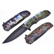 CCN-58580 NATURE'S ART TRIO (3PCS) [Frost Cutlery • Tacticals & Folders • Wildlife Series]