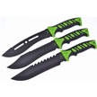 CCN-58596 TAC SURE GRIP TRIO (3PCS) [Tac Xtreme • Fixed Blades & Hunters]