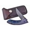 CCN-58769 WILD TURKEY DMSCS BLUE BAR (1PC) [Wild Turkey Cutlery • Pocket Knives]