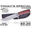 CCN-58800 TODAY'S SPECIAL (1PC) [Sharps Cutlery • Fixed Blades & Hunters • Bowies]