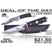 CCN-58801 DEAL OF THE DAY (2PCS) [Sharps Cutlery • Fixed Blades & Hunters]