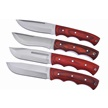 CCN-58812 SHARP'S HICKORY TRAIL TRACKERS(4 [Sharps Cutlery • Fixed Blades & Hunters • Hunting Knives]