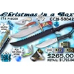 CCN-58842 CHRISTMAS IN A BOX (174PCS) [Frost Cutlery • Dealer Assortments]