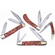 CCN-59039 WILD TURKEY WHSK RVR COLL (4PC) [Wild Turkey Cutlery • Pocket Knives]