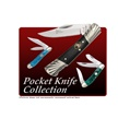 CCN-59040 CRUSHED ABALONE COLLECTION (8PC) [Cherokee Stoneworks • Pocket Knives]