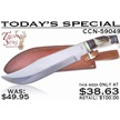CCN-59049 TODAY'S SPECIAL (1PC) [Trophy Stag • Fixed Blades & Hunters • Bowies]