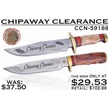 CCN-59186 CHIPAWAY CLEARANCE (2PCS) [Chipaway Cutlery • Fixed Blades & Hunters • Bowies]
