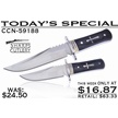 CCN-59188 TODAY'S SPECIAL (2PCS) [Sharps Cutlery • Fixed Blades & Hunters • Bowies]