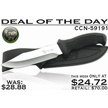 CCN-59191 DEAL OF THE DAY (1PC) [Hen & Rooster • Fixed Blades & Hunters • Bowies]
