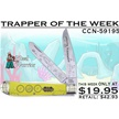 CCN-59195 TRAPPER OF THE WEEK (1PC) [Steel Warrior • Pocket Knives]