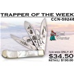 CCN-59246 TRAPPER OF THE WEEK (1PC) [Steel Warrior • Pocket Knives • Premium Knives]