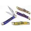 CCN-59264 LUCKY NUTS (4PCS) [Uncle Lucky • Pocket Knives]