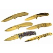 CCN-59307 THE GOLDEN TOUCH (6PCS) [Assorted • Tacticals & Folders]