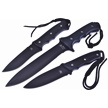 CCN-59343 DARKWOOD ECLIPSE TRIO (3PCS) [Assorted • Fixed Blades & Hunters • Bowies]