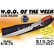 CCN-59399 WOO OF THE WEEK (1PC) [Frost Cutlery • Fantasy]