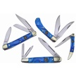 CCN-59533 CROWING ROOSTER BLUE BAYOU (4PC) [Crowing Rooster • Pocket Knives]
