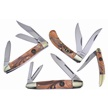 CCN-59534 CROWING ROOSTER GOLD (4PCS) [Crowing Rooster • Pocket Knives]