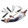 CCN-59553 BUFFALO BLACK POWDER (4PCS) [Assorted • Pocket Knives]