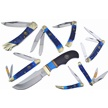 CCN-59560 BLUE RIVER STEEL (8PCS) [Ocoee River Cutlery • Pocket Knives]