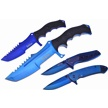 CCN-59624 THE TITANIUM EDGE (4PCS) [Frost Cutlery • Tacticals & Folders]