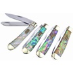 CCN-59721 ABALONE TRPR SHADES (4PCS) [Steel Warrior • Pocket Knives]