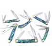 CCN-59735 ABALONE EXPERIENCE (6PCS) [Crowing Rooster • Pocket Knives]