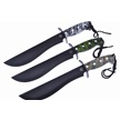 CCN-59809 QUICKSILVER TRIO (3PCS) [Quicksilver • Fixed Blades & Hunters • Bowies]