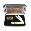 CCN-8417 CASE WHITETAIL DEER YELLOW (1PC) [Case • Collectors' Items • Wildlife]
