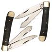 "CCN-FD0085 4.25"" BLK SB BIG GAME TRPR (1PC) [Frost Cutlery • Pocket Knives]"
