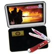 CCN-FL15228 AMERICAN FIREFIGHTER (1PC) [Case Licensed • Collectors' Items • Commemorative Sets]