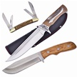 CCN-FL17072 A 3 WOODY HIGH (3PCS) [Assorted • Fixed Blades & Hunters]