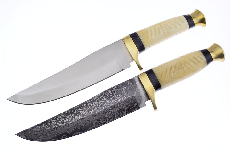 CCN-57632 JOSEPH RODGERS DMSCS WHITE FOX(1 [Joseph Rodgers & Sons • Fixed Blades & Hunters • Bowies]